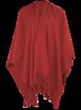 Boris omslag poncho fleece_