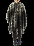 Boris omslag poncho fleece print_