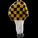 Boris cirkelponcho fleece