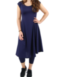 Boris jurk crepe (gerecycled polyester)