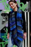 Grijs, blauw, lavendel, viscose sjaal - Liz