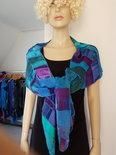 Patchwork sjaal viscose - Liz