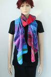 Regenboog sjaal viscose - Liz